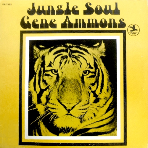 gene ammons jungle soul record with cat cover art