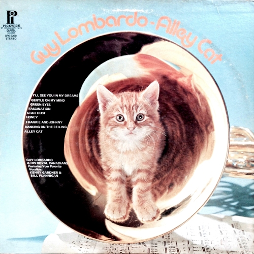 guy lombardo alley cat vinyl lp record album with kitten cat artwork