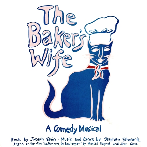 the Baker's Wife a Comedy Musical by Joseph tein and Stephen Schwartz vinyl LP record album with kitten tom cat cover artwork art