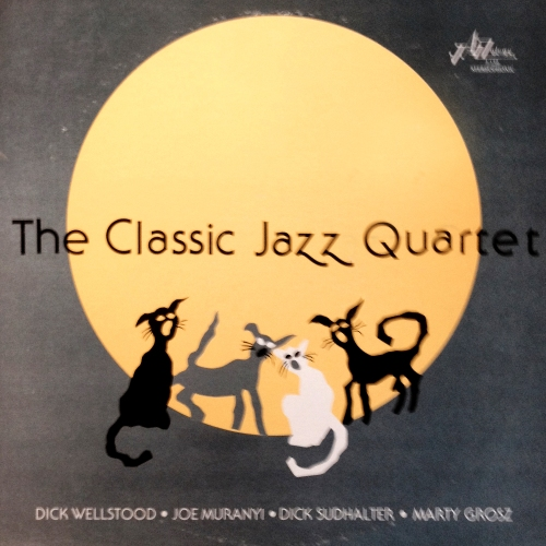 the Classic Jazz Quartet vinyl LP record album with kitten tom cat alley cat cover artwork art