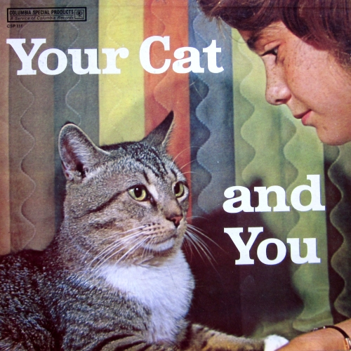 your cat and you CSP 111 vinyl record album cover with cat cover artwork