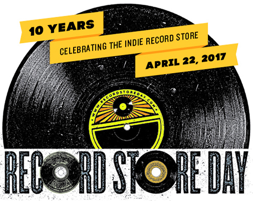 10th Anniversary of Record Store Day 4.22.17