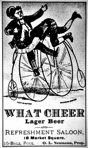 what cheer lager ad