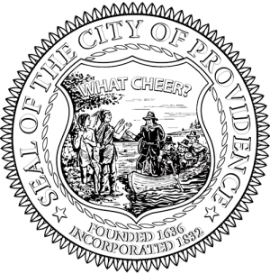 What Cheer Seal of the City of Providence