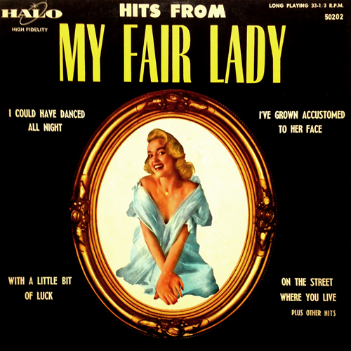 Hits From My Fair Lady HALO 50202 Jayne Mansfield Cover (Maybe) 1957