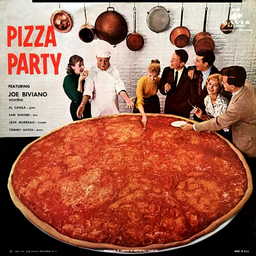 Joe Biviano 'Pizza Party' 1957 Joe Davis JD-106