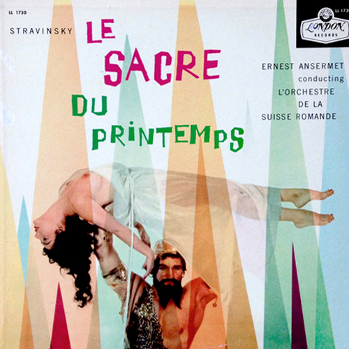 STRAVINSKY Le Sacre du Printemps LONDON LL 1730