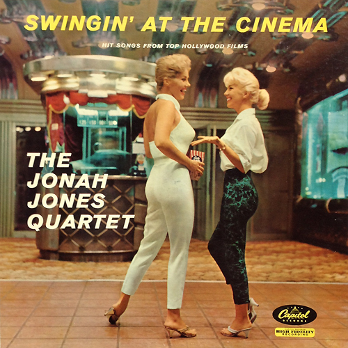 The Jonah Jones Quartet - Swingin' At The Cinema' Cheesecake Cover 1958 Capitol T 1083