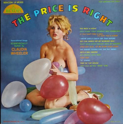 Claudia Wheeler - The Price Is Right (Beacon LP #303) 1950s